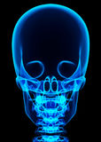 illustration 3D de système cadre bleu brillant Photo stock