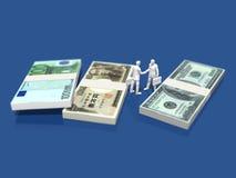 Illustration 3D der Finanzierung Lizenzfreie Stockfotos