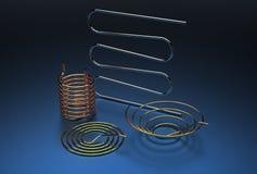 illustration 3d des bobines de tuyau illustration de vecteur