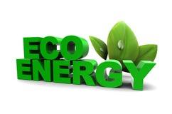Eco Energie Stockfoto