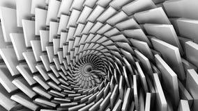 Illustration 3D des Strudeltrichters lizenzfreie abbildung
