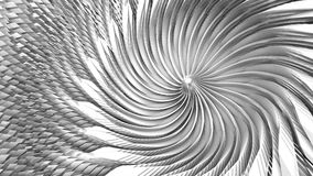 Illustration 3D des Strudeltrichters vektor abbildung