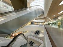 Illustration 3d eines Einkaufszentrums Stockfotos