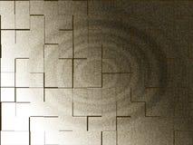 Illustration 3d eines Primärfarbzusammenfassungs-Hintergrunds Stockfotografie