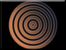Illustration 3d eines Primärfarbzusammenfassungs-Hintergrunds kreist ein Lizenzfreies Stockbild