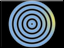 Illustration 3d eines Primärfarbzusammenfassungs-Hintergrunds kreist ein Stockbilder