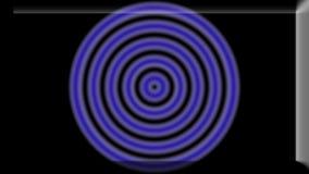 Illustration 3d eines Primärfarbzusammenfassungs-Hintergrunds kreist ein Stockfoto