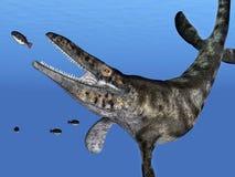 Tylosaurus Photo libre de droits