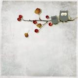 Illustration d'hiboux mignons Images stock
