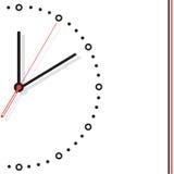 Illustration d'horloge de vecteur illustration stock