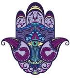 Illustration d'icône de main de Hamsa Image stock