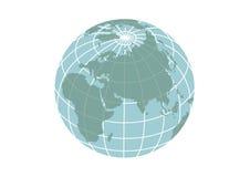Illustration d'icône de la terre de planète illustration stock