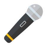 Illustration d'icône de vecteur de microphone illustration de vecteur