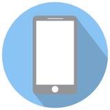 Illustration d'icône de vieux téléphone Photo stock