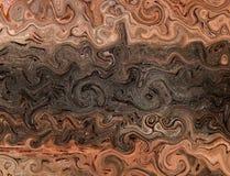illustration 3D Image abstraite d'une surface en bois d'un arbre Image stock