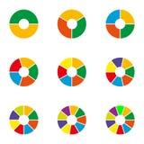 Illustration d'Infographic Concept d'affaires avec des options sur le fond blanc Calibre pour la brochure, affaires, web design,  Images libres de droits