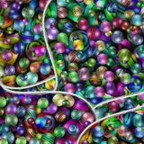 Lots of Coloured balls. Illustration / 3D lots of Coloured balls Royalty Free Stock Photo