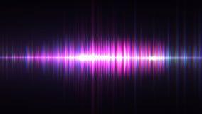 Illustration d'onde sonore d'égaliseur de musique Photos stock