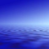 Illustration d'ondulation de l'eau Images libres de droits