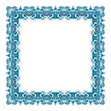 Illustration d'un cadre carré illustration de vecteur