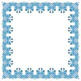 Illustration d'un cadre carré d'élément abstrait illustration libre de droits