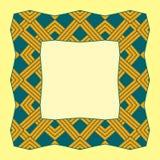 Illustration d'un cadre carré d'élément abstrait illustration stock