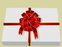 Illustration d'un cadre de cadeau Photo stock