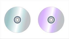 DVD CD Photographie stock