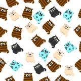 Illustration d'un chat mignon Photographie stock libre de droits