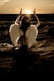 Illustration d'un petit ange Images stock