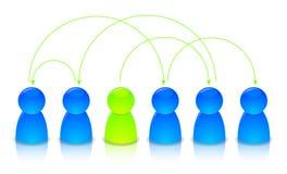 Illustration d'un réseau Images libres de droits