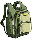Illustration d'un sac à dos Photographie stock