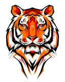 Illustration d'un tigre illustration stock