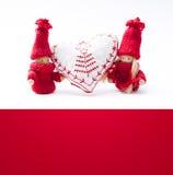 Illustration d'une carte de jour de valentines Photos stock