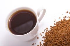 Illustration d'une cuvette de café Image libre de droits