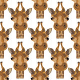 Illustration d'une girafe Photos libres de droits