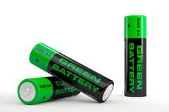 Illustration 3d von Batterien vektor abbildung