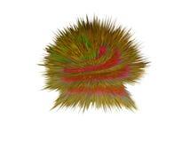 Illustration 3d von Pilzen, Bakterien, Viren in der Medizin Lizenzfreies Stockfoto