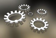 Illustration 3d von Waschmaschinen Lizenzfreie Stockfotografie