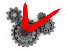 3d watch gears Stock Image