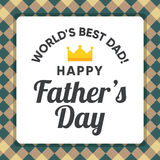 Illustration for dad, happy father`s day Stock Photos