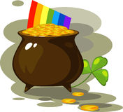 Illustration on the day of St. Patrick Stock Photo