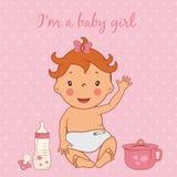 Illustration de bébé mignon Photographie stock libre de droits