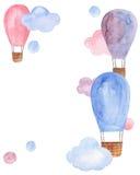 Illustration de ballon à air Photos libres de droits