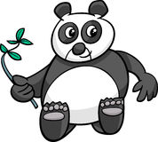 Illustration de bande dessinée de panda géant illustration stock