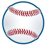 Illustration de base-ball Photos stock
