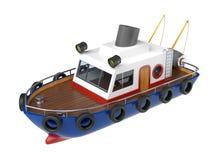 Illustration de bateau de pêche Photographie stock libre de droits