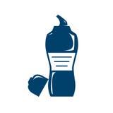 Illustration de bouteille d'eau Photographie stock