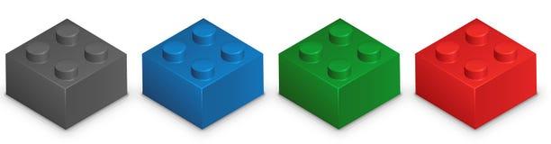 Lego illustration de vecteur