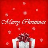 Illustration de cadeau de Joyeux Noël Photographie stock
